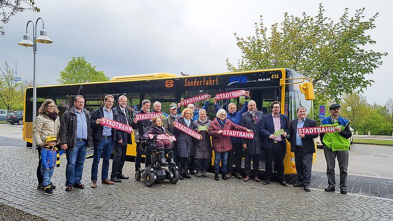 "Mock up ""Stadtbahn"""